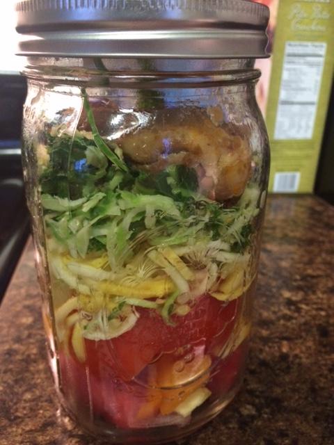 Recipes to try: Mason Jar Salads |
